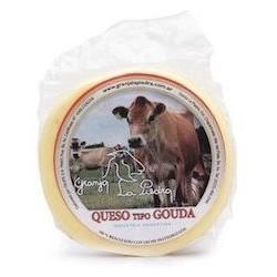 Queso Gouda de vaca (300 gr aprox) - Granja La Piedra