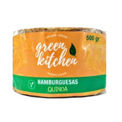 Hamburguesas veganas Quinoa y Curry x 4u - Green Kitchen