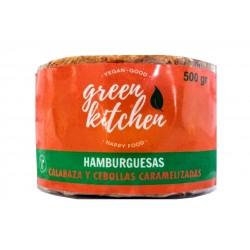 Hamburguesa vegana Calabaza y Cebolla caramelizada x 4u - Green Kitchen
