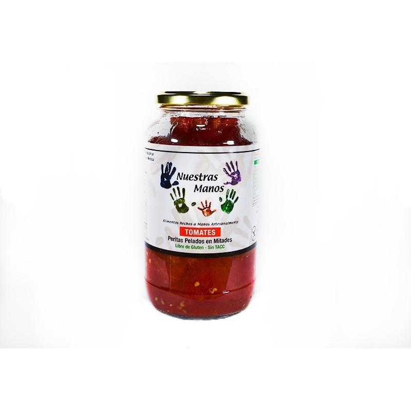 Tomates Perita al natural 800 gr - Nuestras Manos