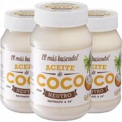Aceite de Coco Neutro/Refinado God Bless x 500 gr