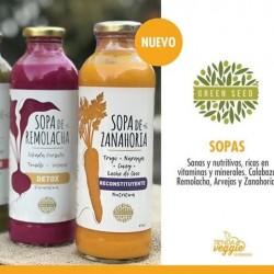 Sopas de verduras - Green Seed 475 ml