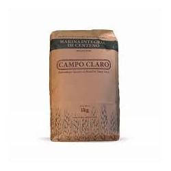 Harina de Centeno Organica 1 kg - Campo Claro