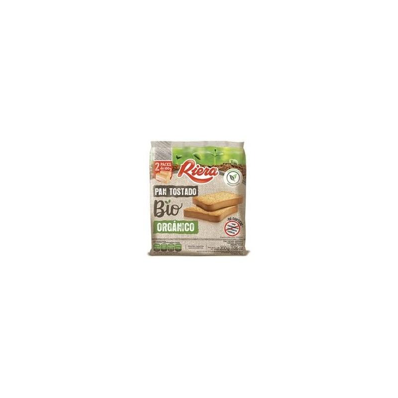 Tostada Organica 200 gr - Riera BIO