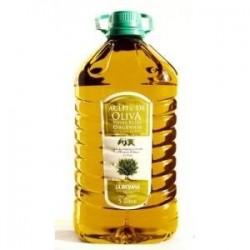 Aceite de oliva organico extra virgen La Riojana 5 Lts