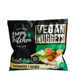 Nuggets Veganos de Quinoa y Garbanzo - Green Kitchen