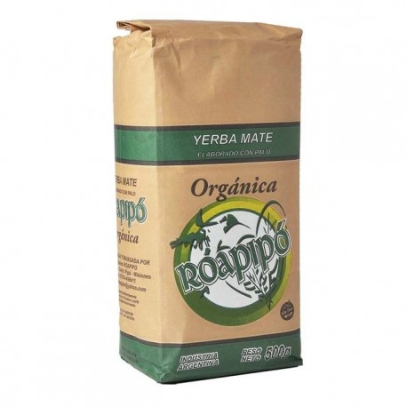 Yerba Mate Organica Roapipo 500 gr