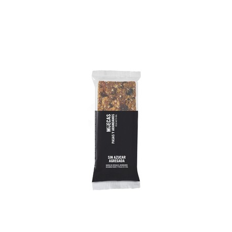 Barrita de cereal vegana SIN AZUCAR - Mueca