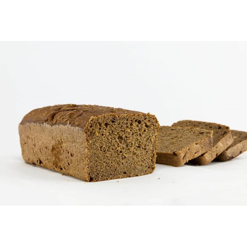 Pan 100% centeno y masa madre 750 g - La Centenaria